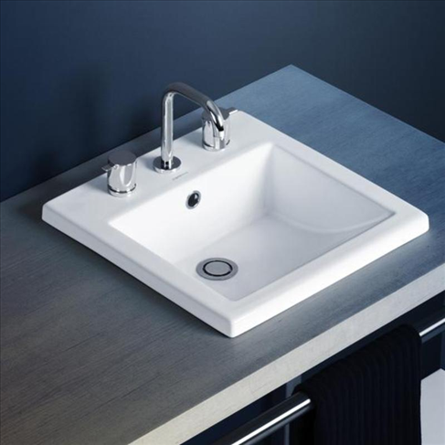 Liano Insert Basin White 3TH