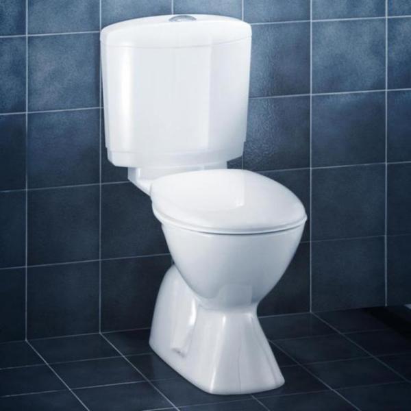 Cosmo Toilet Suite S Trap White