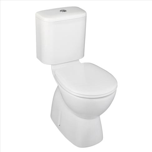 Prima MK2 Toilet Suite S Trap White