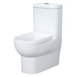 Banksia Toilet Suite Wall Faced White