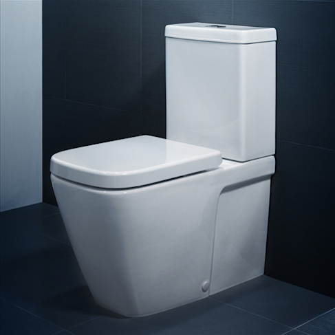 Cube Wall Faced Toilet Suite