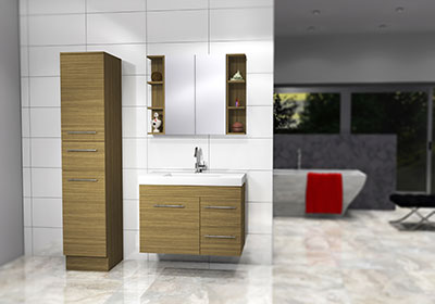 Timberline Bargo Vanity 900mm B90GW   SB90   F18F